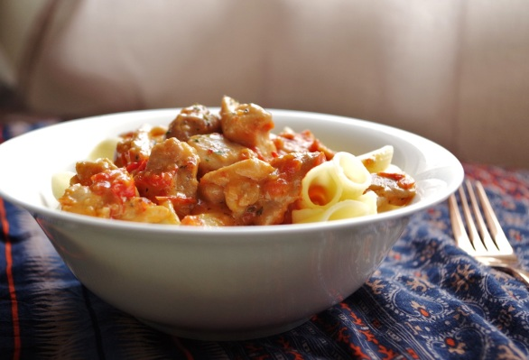 peppadew chicken pasta